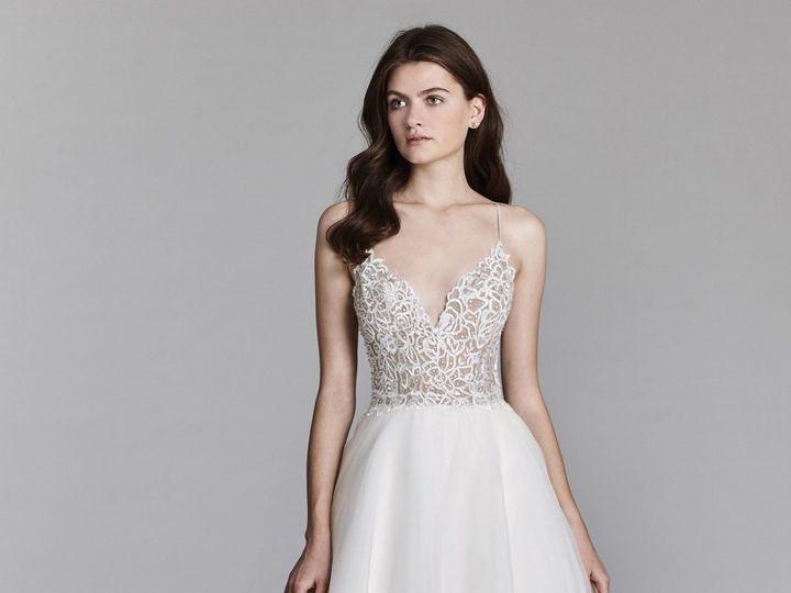 Tmx 1522515435 722dbead4873c8b5 1522515431 963f4f936817d9a8 1522515427720 8 Jim Hjelm Bridal S  wedding dress
