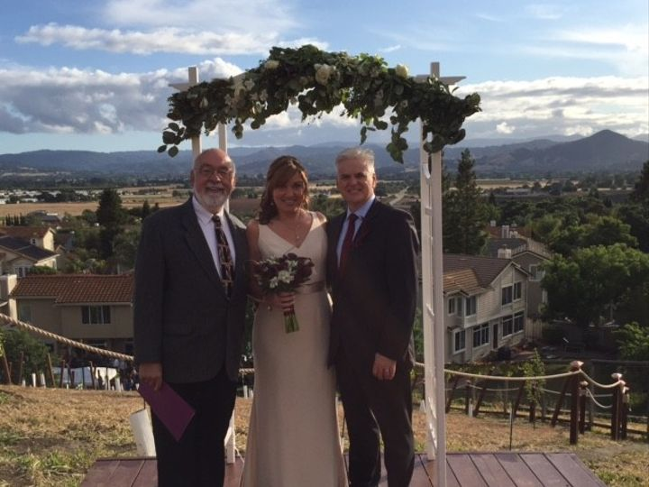 Tmx 1499924132981 Jeanie And Dylan With Joe   May 21 2016 San Jose, CA wedding officiant