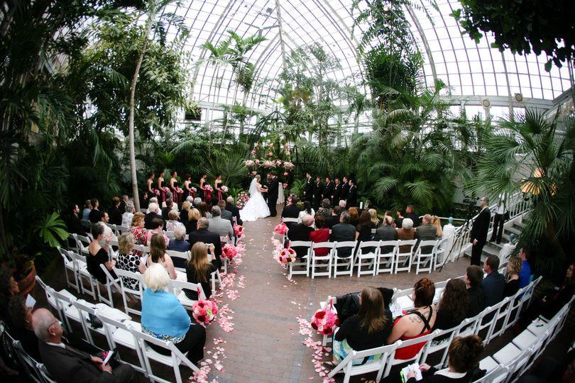 Beau Franklin Park Conservatory And Botanical Gardens   Venue   Columbus, OH    WeddingWire
