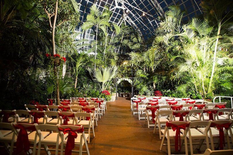 Franklin Park Conservatory And Botanical Gardens Reviews Amp Ratings Wedding Ceremony Amp Reception