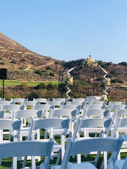 Beautiful valley wedding