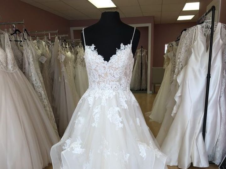 Tmx Layered Skirt Lace Applique Ballgown Heart To Heart Bride Private Collection Rochester Ny 51 55560 157549809954016 Webster, NY wedding dress