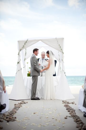 800x800 1432763077359 rabbi olshansky performing ceremony; 800x800 1432763164314 jewish ceremony under canopy ... & Rabbi Sanford Olshansky - Officiant - Rockledge FL - WeddingWire