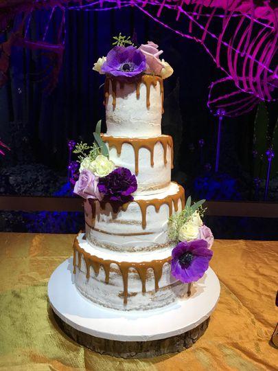 PinSpot Cake! Uplighting too!