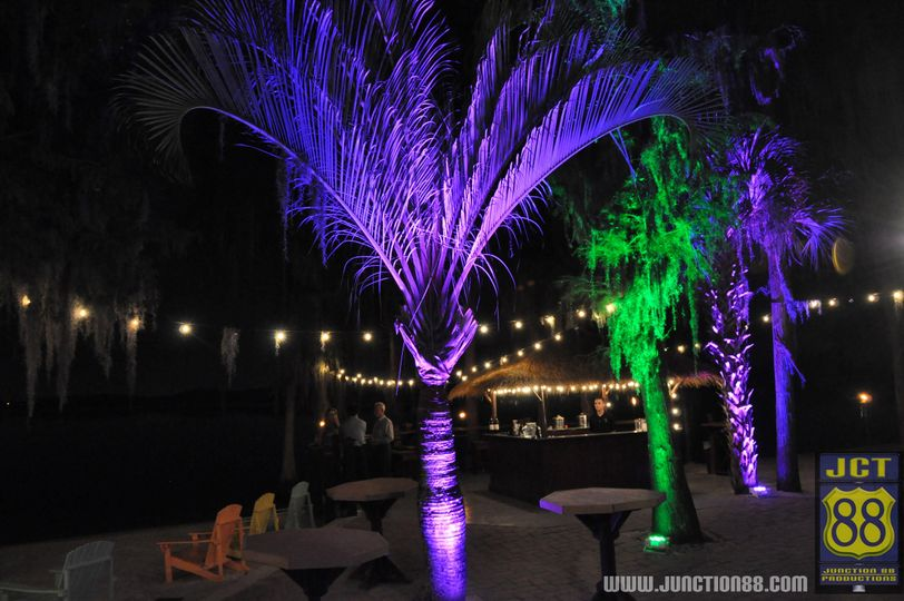 Paradise Cove Uplighting