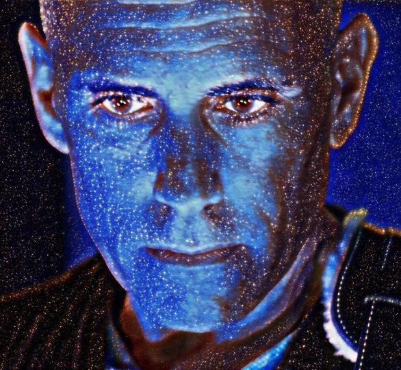 Blue Man @Enlightened Studios!