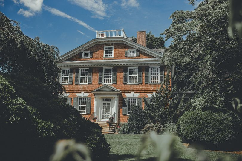 Exterior view of Belmont Hall
