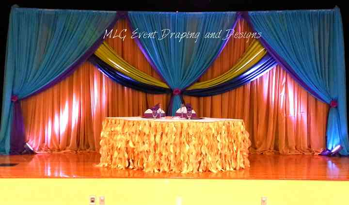 MLG Event Draping and Designs