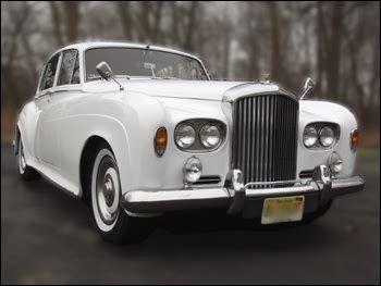 2 passenger Bentley limousine