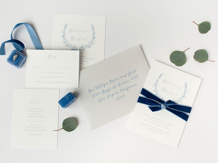 Tmx 1475794698834 Prs Breanne 1 Minneapolis wedding invitation