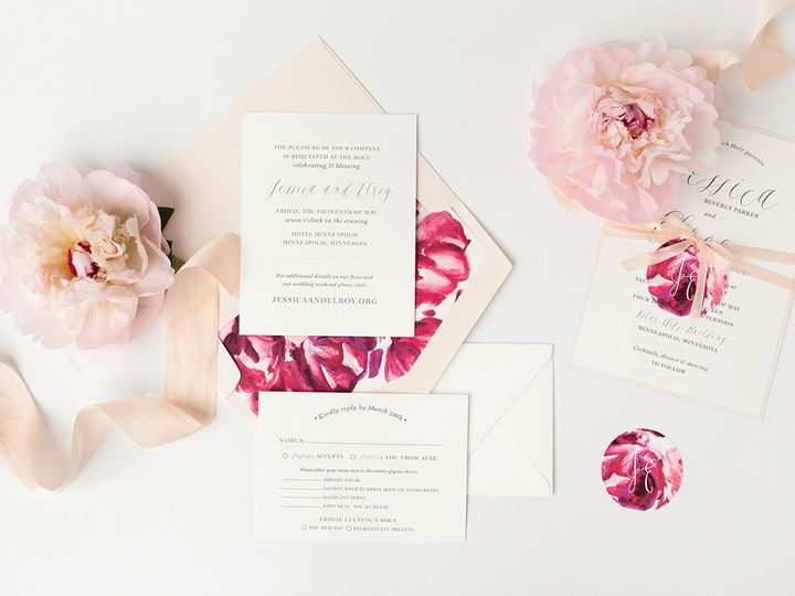 Tmx 1475794760843 Prs Jessica 1 Minneapolis wedding invitation