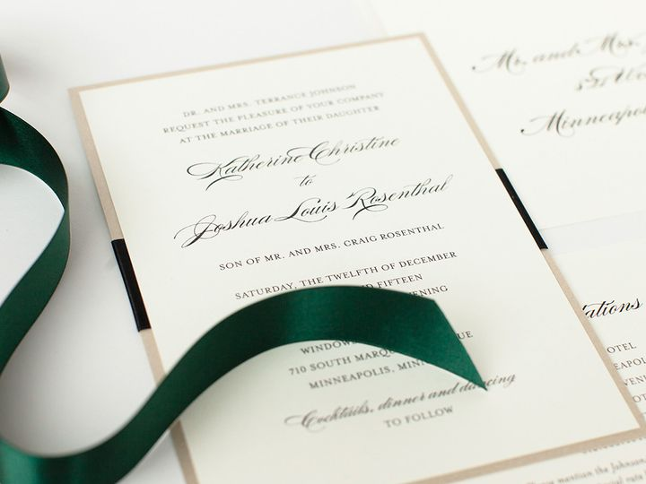 Tmx 1475794777454 Prs Katherine 2 Minneapolis wedding invitation