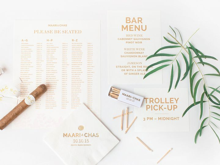 Tmx 1475794785442 Prs Maari 3 Minneapolis wedding invitation