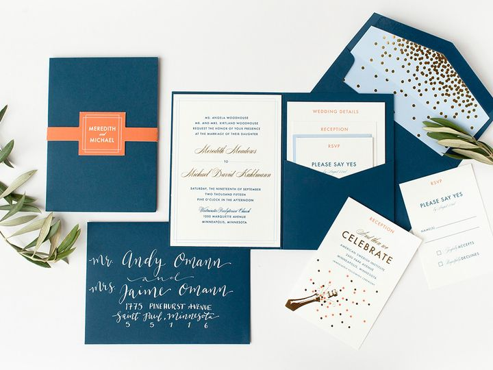 Tmx 1475794804221 Prs Meredith 1 Minneapolis wedding invitation