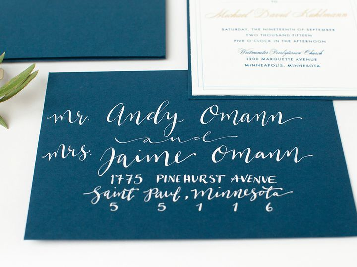 Tmx 1475794827923 Prs Meredith 3 Minneapolis wedding invitation