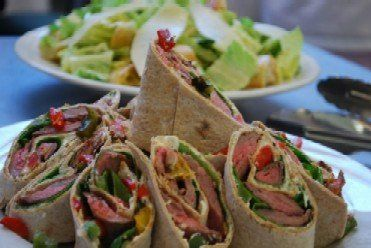 Tmx 1270697204274 Flanksteakwraptwomomscatering Sacramento, CA wedding catering