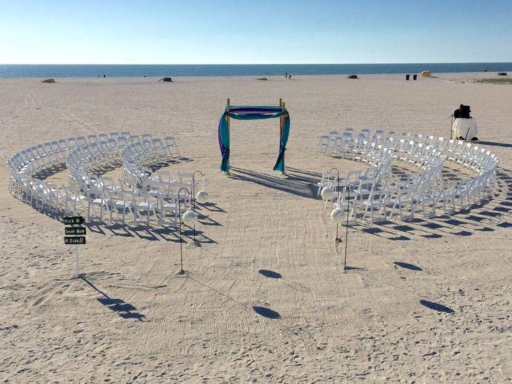 Ready for the beach wedding