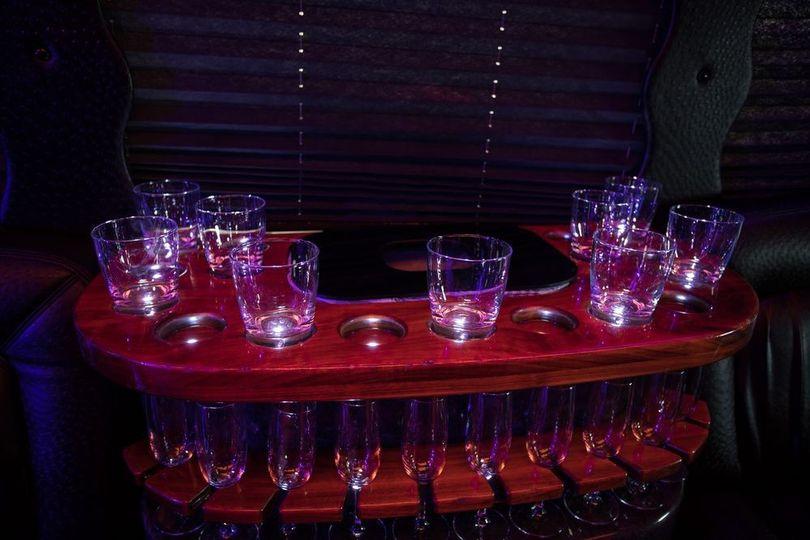 VIP bar area
