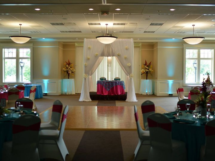 Tmx 1450463945229 Room A With Sw Table And Canopy Blythewood, South Carolina wedding venue