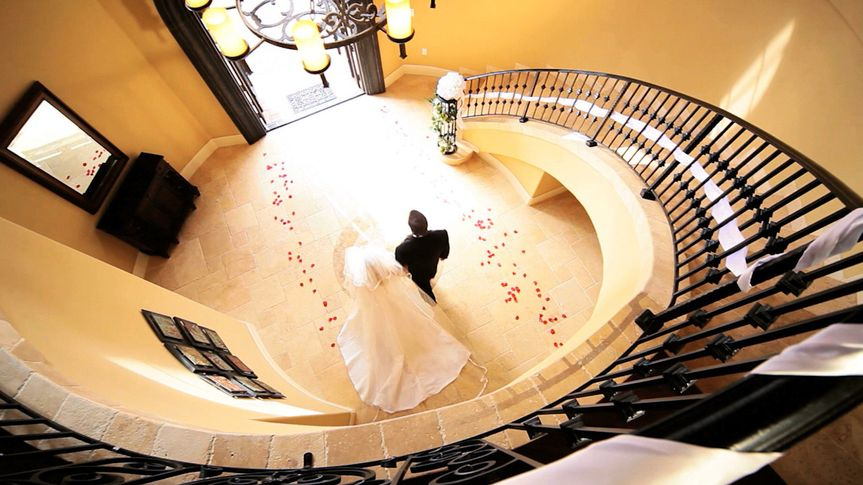 bride hall stairs