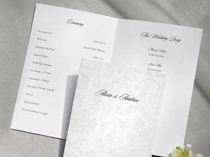 Tmx 1209953177474 LAwhitprog Byron Center wedding invitation