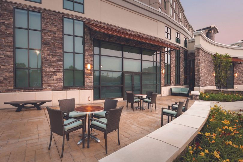 embassy suites springfield garfield room patio s