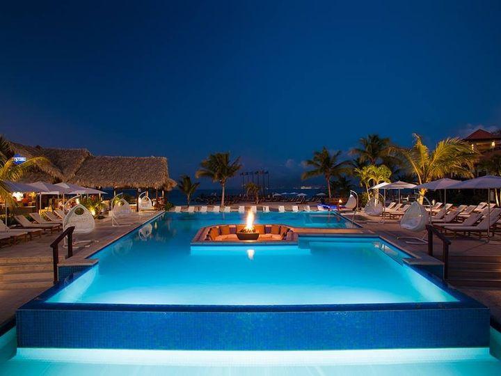 Tmx 1483288386185 Sandals Grenada Pool By Night Richmond, Virginia wedding travel