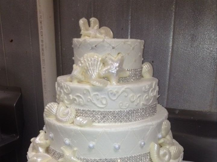 Tmx 1393899276597 Blue Heron Pines Wedding Cak West Berlin, New Jersey wedding cake
