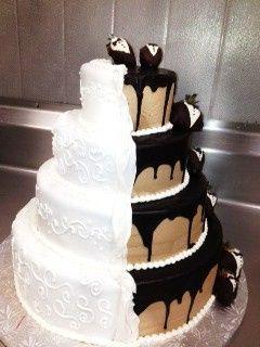 Tmx 1393899323920 Bride  Groom Wedding Cak West Berlin, New Jersey wedding cake