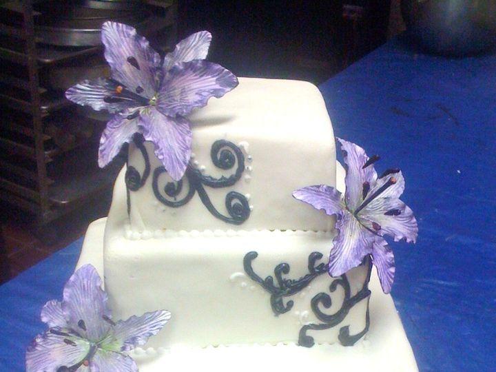 Tmx 1393899505562 Lavender Lillie West Berlin, New Jersey wedding cake