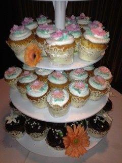 Tmx 1393899665348 Wedding Cupcakes Zande West Berlin, New Jersey wedding cake