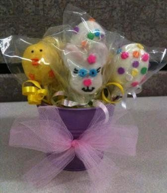 Easter Bouquet Cake Pops
