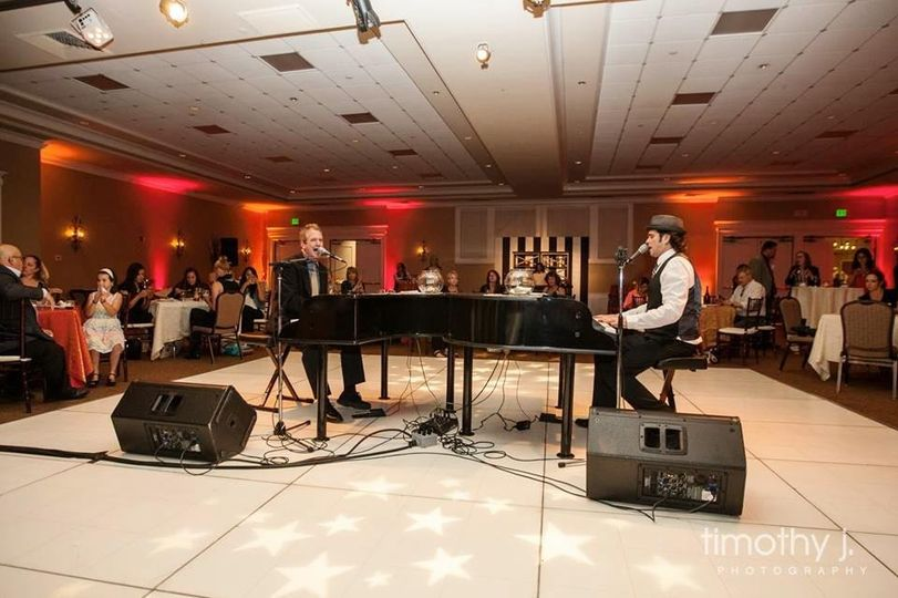 The Killer Dueling Pianos performing at The Temeku Hills Ballroom in Temecula,Ca. May 2015
