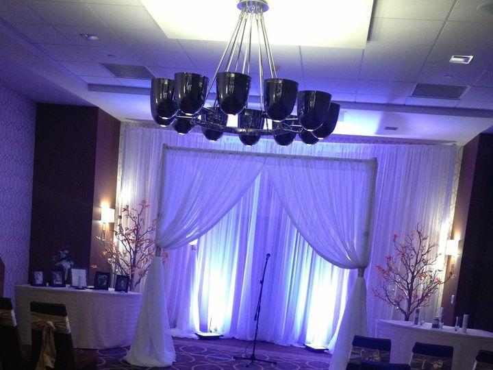 Tmx 1388610957137 Drapin Belle Vernon wedding rental