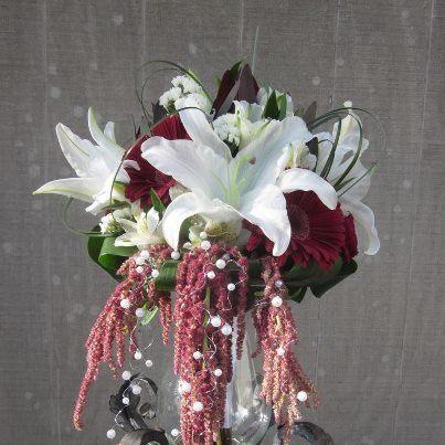 Tmx 1349882193807 Burgandywedding Colts Neck wedding florist