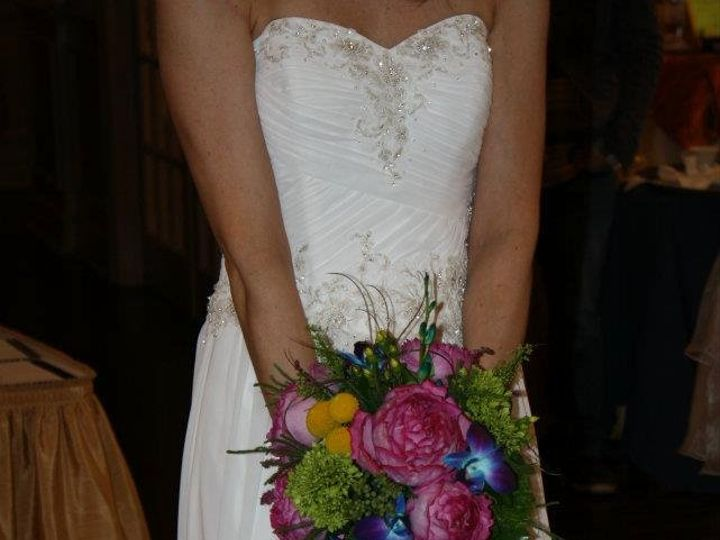 Tmx 1349882266921 Peacockbouquet Colts Neck wedding florist