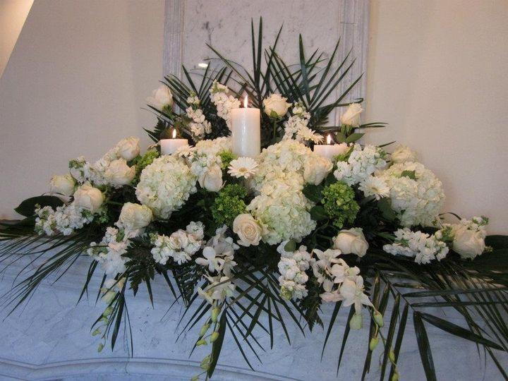 Tmx 1349882442384 Mantle2 Colts Neck wedding florist