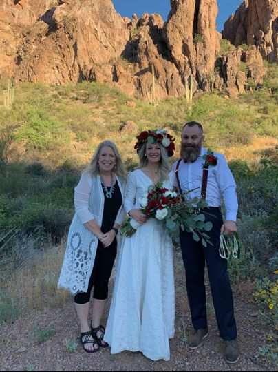Superstition Mountains Wedding
