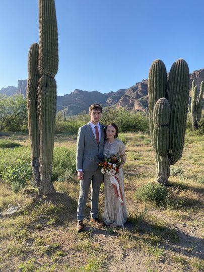 Superstition Desert Wedding