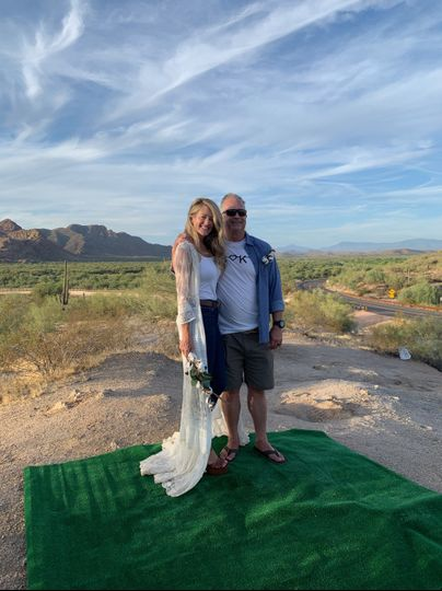 Vow Renewal at Red Mountain
