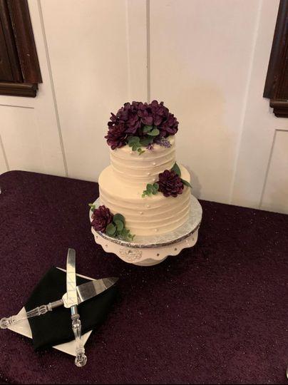 Vow Renewal Cake