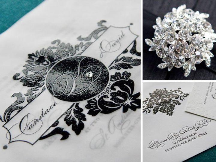 Tmx 1352213688516 Candace2 Thorofare wedding invitation