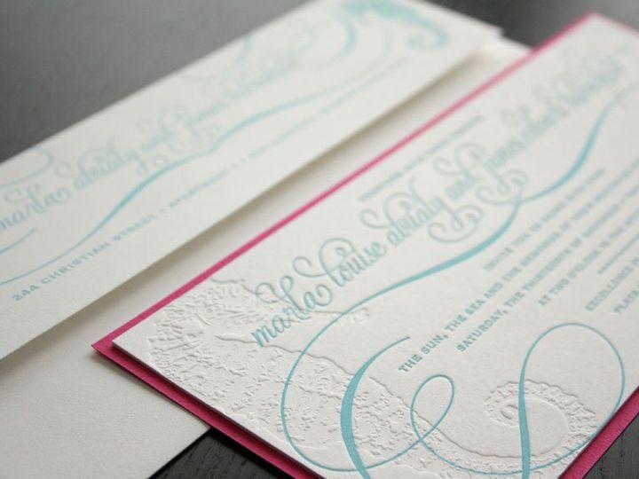 Tmx 1352213843893 Marla1 Thorofare wedding invitation