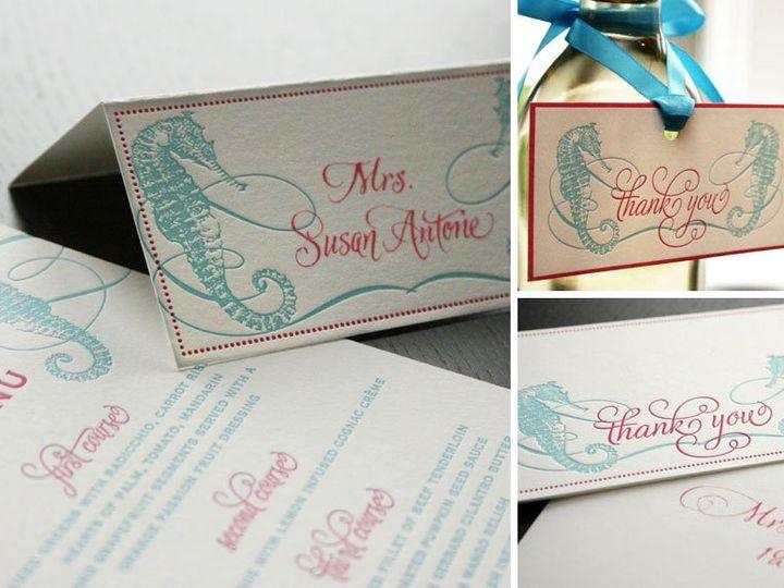 Tmx 1352213853334 Marla2 Thorofare wedding invitation