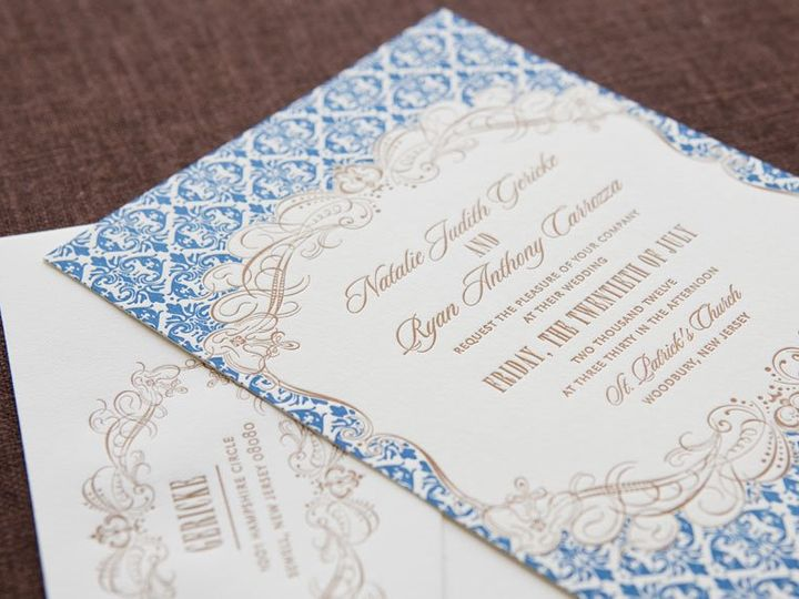 Tmx 1352213863593 PATTERN1 Thorofare wedding invitation