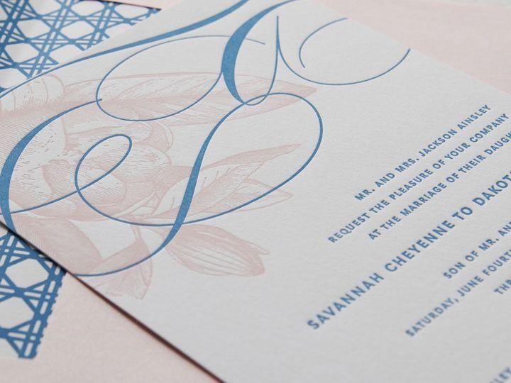 Tmx 1352213996020 SOUTHERNBELLE.1.zoom Thorofare wedding invitation