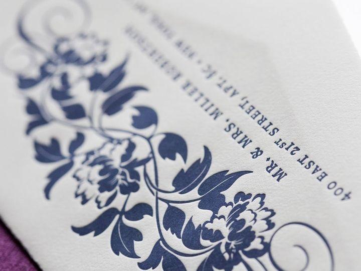 Tmx 1352214071366 TRENDYTRELLIS.3.zoom Thorofare wedding invitation