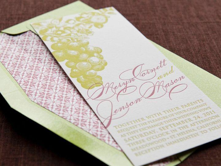 Tmx 1352214144763 BLUSHINGBRIDE.1.zoom Thorofare wedding invitation