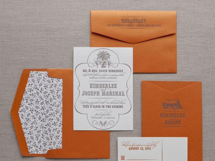 Tmx 1352214163925 BARNYARDCHIC.zoom Thorofare wedding invitation