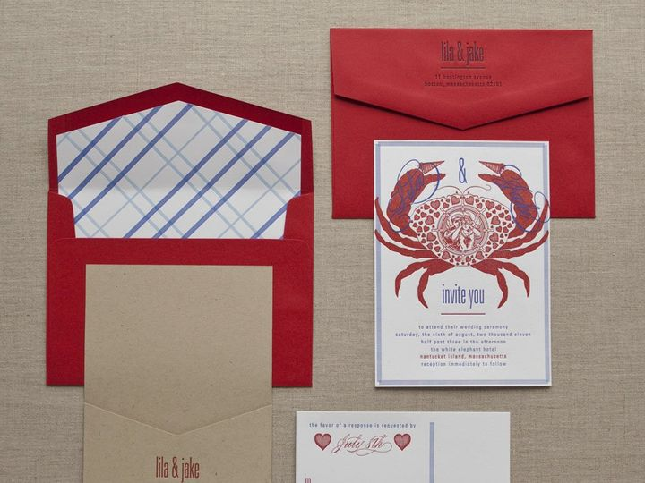 Tmx 1352214195855 NANTUCKETNAUTICAL.zoom Thorofare wedding invitation